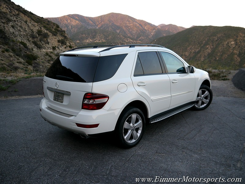 History for 2009 mercedes benz ml350 price